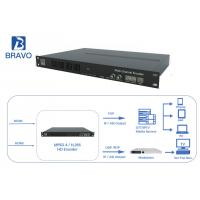 Buy cheap HD / SD 16 Channels Head End Processor H.264 H.265 HEVC Encoder IPTV OTT Hardware Encoding from wholesalers