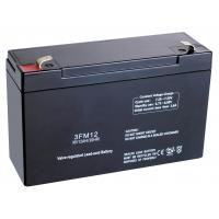 Buy cheap 6v 12ah Maintenance-free Valve Regulated Lead Acid Battery 3FM12 for Traffic and Navigation Signal Lamp from wholesalers