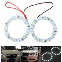 Buy cheap Pair 60mm White Car Angel Eyes Lights HeadLight Halo Ring Lights 15 LEDs SMD Chip from wholesalers