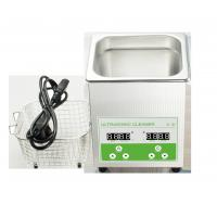 Buy cheap Ultrasonic Printhead / 3D Printing Cleaner Ultrasonic Washing Device 40KHZ 2L from wholesalers