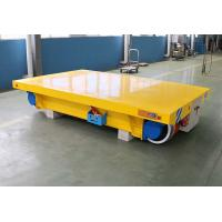 Buy cheap 3ton 5 ton trackless motorized rail cart for inductrial workshop from wholesalers