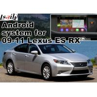 China Lexus ES RX NX IS Car GPS Navigation System with rear view touch screen TV video cast screen Android 5.1 on sale