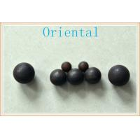 Dia 25 mm Hot Rolling Steel Balls for Mines , SAG Ball Mill with high hardness Manufactures