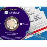Buy cheap Retail Key Windows 10 Pro Oem Pack Win 10 Pro Key DVD Box Global Activations from wholesalers