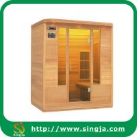 Wholesale 3 person wooden infrared dry sauna from china suppliers