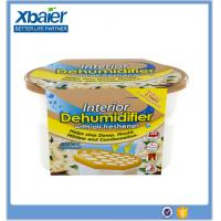 Buy cheap Refillable calcium chloride tablet moisture absorber dehumidifier box from wholesalers
