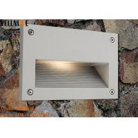 Wholesale Recessed Outdoor LED Step Lights , Rectangle Aluminum  Wall Lamp 3W 110 - 240V 50HZ from china suppliers