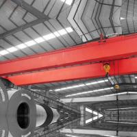 Buy cheap Industrial Workshop Travelling Bridge Crane 50 T Double Girder 30m Lifting from wholesalers