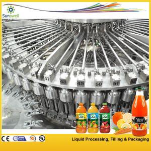 Monoblock 3-In-1 Juice Filling Machine 15000BPH Automatic Pet Bottle For Fruit Manufactures