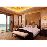 China Wooden luxury Hotel Bedroom Furniture With SGS E1 MDF Board For Sale on sale