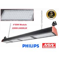 Industrial 120lm/W LED Linear High Bay For Warehouse Lighting 200W IP66 5 Years Warranty Manufactures