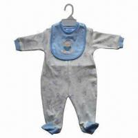 Buy cheap Babywear, Made of 100% Cotton, Interlock, Customized Colors are Accepted from wholesalers