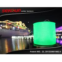 Buy cheap 10 LED Light Inflatable Solar Lantern , solar camping lantern with 220 mAh from wholesalers