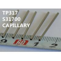 Buy cheap TP317 / S31700 Special Alloys Capillary 0.25 - 8.0mm OD For Horological Industry from wholesalers