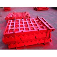 Buy cheap Casting Coal Mining Metso Wear Parts , Customized Grey PE Jaw Crusher Jaw Plate from wholesalers