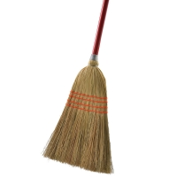 Buy cheap Solid Wood Handle Commercial Push Broom Corn Light Upright Broom Set from wholesalers