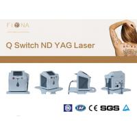 Buy cheap Clinical Use Laser  Tattoo Removal Machine 6 * 140mm Lamp Size 1320nm from wholesalers