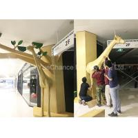Buy cheap Life Size Fiberglass Animal Statues Giraffe Statue Decoration High Height from wholesalers
