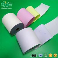 Buy cheap Laser Printers NCR Carbonless Carbon Paper Roll For POS Printers / Invoices from wholesalers
