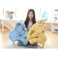 Wholesale Eco Friendly Fabric Stuffed Elephant Toy , Cuddly Elephant Soft Toy Up To 90cm from china suppliers