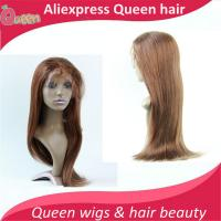 Buy cheap 130% Density Brazilian Virgin Hair Striaght  Lace Wigs Glueless Full Lace Wig Full Lace Human Hair Wigs For Black from wholesalers