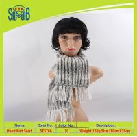 Buy cheap wholesale price thermal scarf knitted for lady from wholesalers