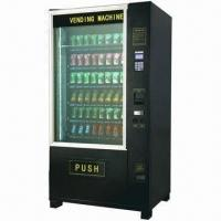 Drink/Soda Vending Machine With Lift System and Glass Heater Manufactures