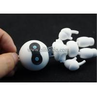 Buy cheap Soft PVC 3d robot shape USB flash driver custom 3d USB flash disk for promotion from wholesalers