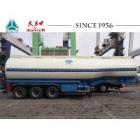 Buy cheap 40000 Liters Fuel Tanker Trailer Long Service Life For Petroleum Transport from wholesalers