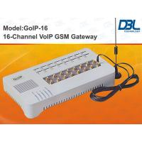 Buy cheap 16 SIM Slots VoIP GSM Gateway PSTN , SIM Bank Gateway With Remote Control from wholesalers