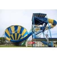 Buy cheap Thrilling Commercial Fiberglass Water Slides Maximum Speed Of 12m / S from wholesalers