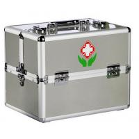 Wholesale Double Open Aluminum Fisrt Aid Cases Trays Emergency Medical Kits from china suppliers