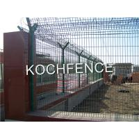 Buy cheap Anti Corrosion 3D Fence Panel Easily Assembled Custom Color 3.0 - 7.0mm Wire Diameter from wholesalers
