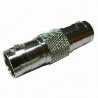 Buy cheap BNC Female to BNC Female RF Adapter with 50Ω Nominal Impedance from wholesalers