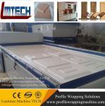 Buy cheap wooden american door kitchen cabinet vacuum membrane press machine from wholesalers
