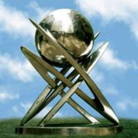 Wholesale large globe 316# Stainless Steel Sculptures from china suppliers