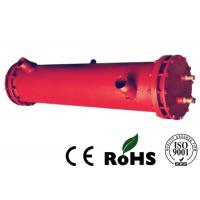 Buy cheap Red Tube Heat Exchanger Oil Cooler Water Cooler With Carbon Steel Shell Material from wholesalers
