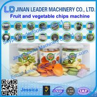 Buy cheap fruit and vegetable process line ,Kiwi Chips processing line from wholesalers