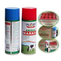 Wholesale Long Lasting Animal Marking Spray Paint 2 Years Shelf Life For Pigs Cows Horse Sheep from china suppliers