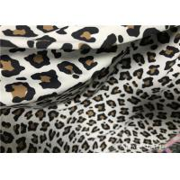 Buy cheap Custom Printed Double Knit Fabric Panther Print With Wet Screen Printing from wholesalers