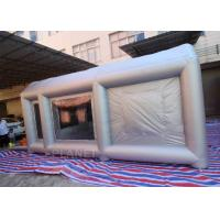Buy cheap 6m Long Car Painting Spray Paint Tent Inflatable Spray Paint Booth from wholesalers