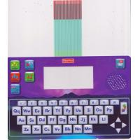 Wholesale Multicolored Printed Keyboard Membrane Switch With Metal Dome And Rubber Keys from china suppliers