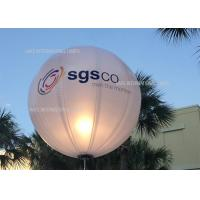 Buy cheap Battery Powered DC80W 400W LED Lighting Inflatable Balloon In Corporate Event from wholesalers