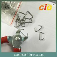 Iron Car Seat Staples with Galvanization in Silver Color C Type Manufactures
