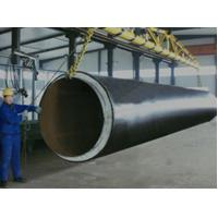 Buy cheap W.T 6mm - 12mm Black Jacket Insulation Steel Pipe With Pu Foam For Urban Centralized Heating System from wholesalers