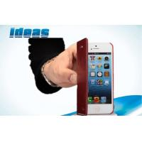 Buy cheap Durable Apple iPhone Leather Cases , iPhone 4 Glaze PU Leather Cover from wholesalers
