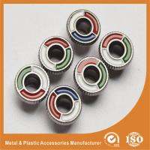 Wholesale Shiny Enamel Zinc Ring Eyelet Decoration Metal Shoe Buckles Customization from china suppliers