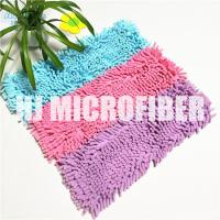 Buy cheap 100% Polyester Material Fluffy 18 Chenille Wet Mop Pad , Microfiber Mop Refill Pad from wholesalers