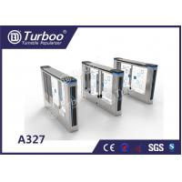 Buy cheap Office Security Swing Electronic Turnstile Gates Mechanical Anti - Pinch Function from wholesalers