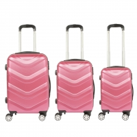 Buy cheap 4 Spinner Wheels 20 inch ABS Hardside Luggage Sets from wholesalers